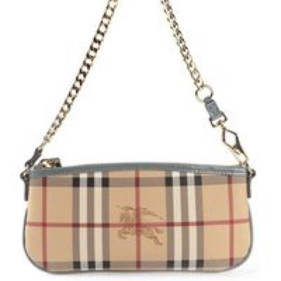 authentic Burberry Clara clutch handbag 3b3b0d1e2e9d8
